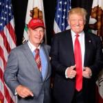 Papa Doug Manchester with Donald Trump.