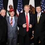 Papa Doug and Donald Trump